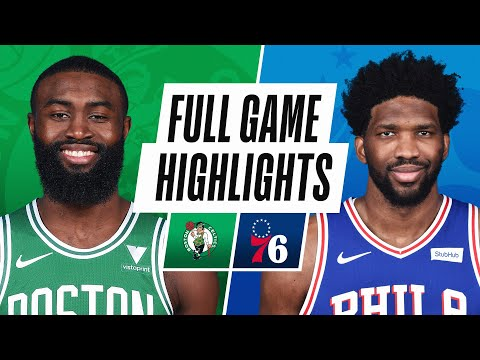 CELTICS at 76ERS | FULL GAME HIGHLIGHTS | January 20, 2021