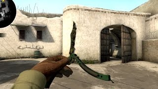 CS:GO - ★ Butterfly Knife | Boreal Forest (Field-Tested) - with all animations