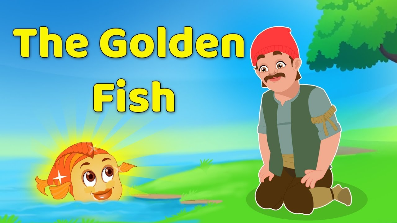 The Magical Golden Fish Story | Best Moral Bedtime Stories By Baby Hazel  Fairy Tales