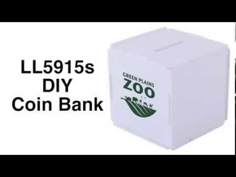 LL5915s DIY Coin Bank - OM017