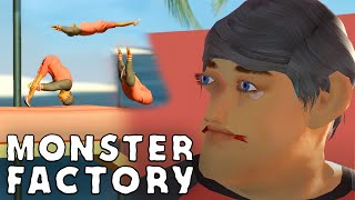 jIM jELLY is doing gymnastics their way | Monster Factory