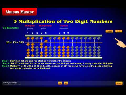 Abacus Master Child Multiplication