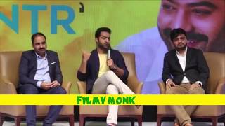 Jr.NTR Irritated By Reporter Frequent Question @ Celekt Mobile Launch