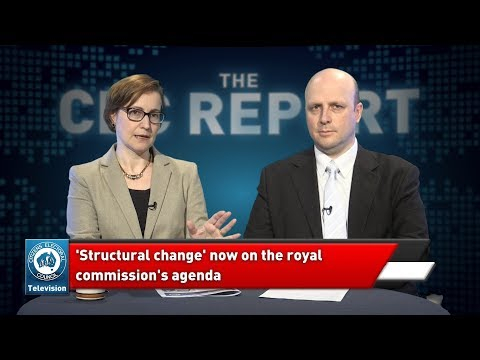 21 September 2018 - The CEC Report – Royal Commission probes bank structure / UK releases terrorists