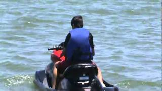 Primera vez en moto de agua