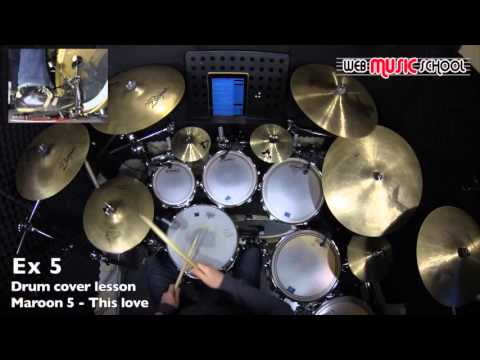 Baixar Maroon 5 - This love - FREE DRUM LESSON