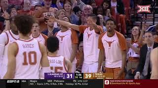 Kansas State vs Texas Men's Basketball Highlights
