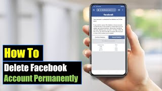 How to Delete Facebook Account Permanently On Mobile (Android or iPhone) 2018   Mobile App