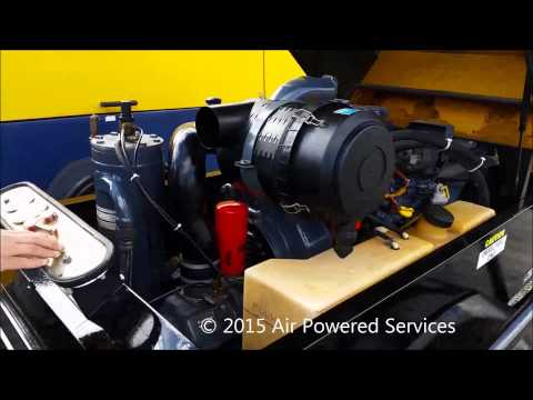 Atlas Copco XAS67 Diesel Air Compressor