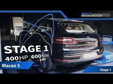 Porsche Macan S Stage 1 with Akrapovic Evolution Line By BR-Performance