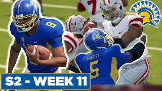 The FRESHMAN Steal The Show! - San Jose State | NCAA Football 14  - Ep 28