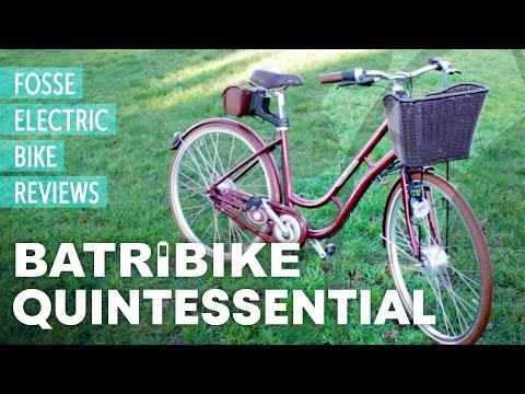 E-Bike Review: BATRIBIKE Quintessential - Low Step Electric Bike UK