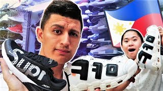 Best Fake Sneakers in the Philippines! Sneaker Shopping with Carlo Ople (Greenhills Vlog)