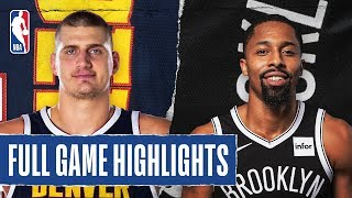 NUGGETS at NETS | FULL GAME HIGHLIGHTS | December 8, 2019