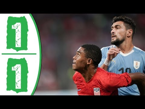 USA vs Uruguay 1-1 Highlights & Goals 2019