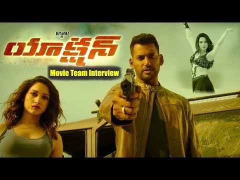 Vishal's Action Movie Team Interview