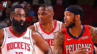 New Orleans Pelicans vs Houston Rockets - Full Highlights | October 26, 2019 | 2019-20 NBA Season