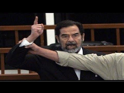 أعدم في عيد الأضحى..رد فعل صدام حسين لحظة سماع حكم القاضي