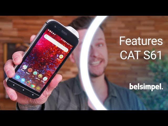 Belsimpel-productvideo voor de Cat S61 Black