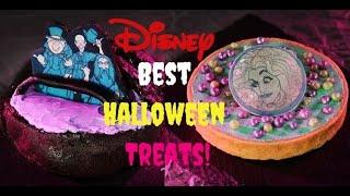 Disney Top 30 Halloween Treats Disneyland Walt Disney World Best Oogie Boogie Mickey Coco Snacks