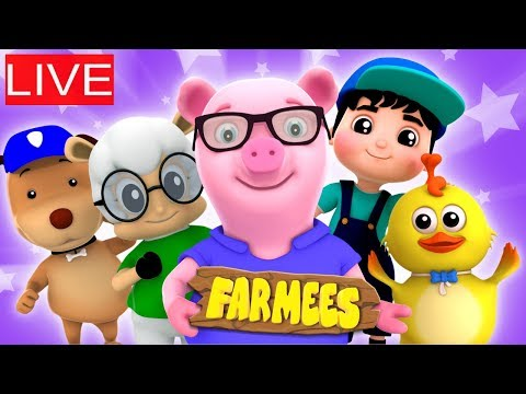 🔴 Nursery Rhymes and Kids Songs | Videos For Children