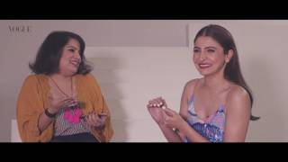 When Mallika Dua met Vogue India cover girl Anushka Sharma