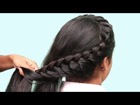 Easy Hairstyle For Long Hair Tutorial Butterfly Braid