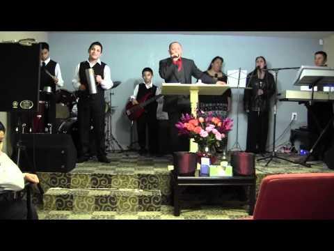 Pastor Jonas Lemus Iglesia uncion poder y fuego(1/6)