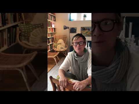 En hälsning från Josefin Sundström, barnboksförfattare.