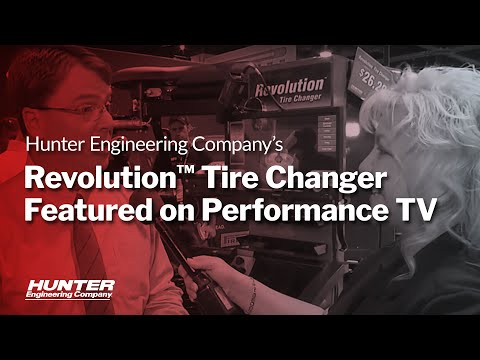 Performance TV talks Revolution Tire Changer at SEMA 2015