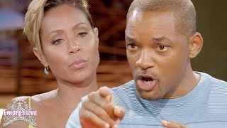 Will Smith puts his wife Jada in her place! (MUST SEE)