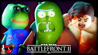 Top 10 FUNNIEST Battlefront 2 Mods Ranked ft. WoofWoofWolffe