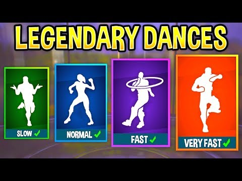 I played My Fortnite Emotes at Different Speeds and they sounded awesome..!