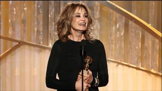Jessica Lange Wins Best Supporting Actress TV Series - Golden Globes 2012