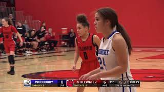High School Girls Basketball: Woodbury vs. Stillwater