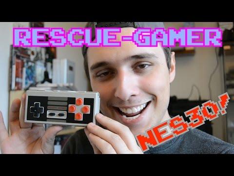 Rescue-Gamer: NES30 Controller