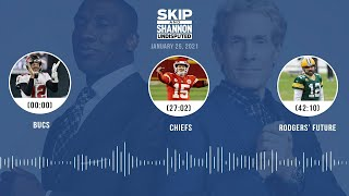 Bucs' + Chiefs' wins, Aaron Rodgers' future (1.25.21) | UNDISPUTED Audio Podcast