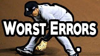 MLB: Worst Errors (HD)