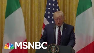 Trump Calls Mattis 'The World's Most Overrated General' In Meeting On Syria | Hardball | MSNBC