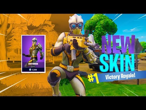 New VENTURION Skin Gameplay in Fortnite