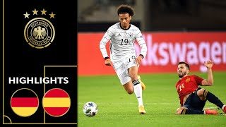 Werner scores in strong Sané comeback | Germany vs. Spain 1-1 | Highlights | Nations League