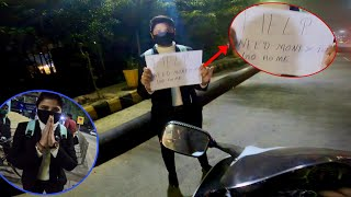 Girl Asking For Help From Strangers At Night | Bikers Helping People | Kisan Andolan & Border Seal