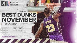 NBA's Best Dunks & Posterizes | November 2019-20 NBA Season
