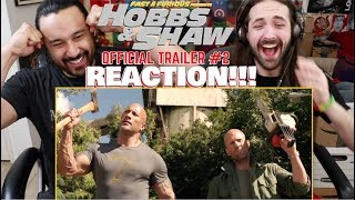 HOBBS & SHAW - Official Trailer #2 | REACTION!!!