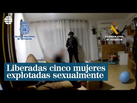 Liberadas cinco mujeres víctimas de la explotación sexual