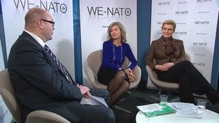 WE-NATO - First live web chat on International Women's Day 2012