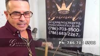 Fabricando una Cubanlink Chain Joyería Grimal