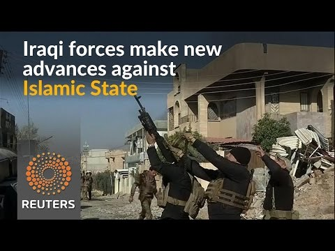 Iraqi forces push further into Mosul