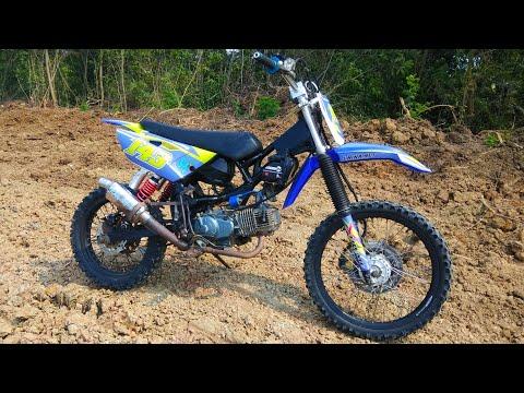 Video Modifikasi Motor Bebek 4tak Yamaha Jupiter Z 2008 Trail