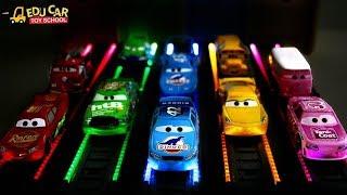 Learning Color Disney Lightning McQueen mack truck play for kids car toys